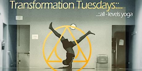 Transformation Tuesdays - All-Levels Yoga tickets