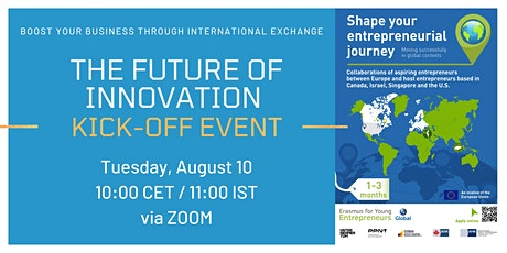 THE FUTURE OF INNOVATION tickets