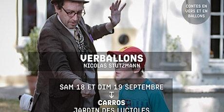 VERBALLONS - Nicolas Stutzmann - Festival jacques a dit billets