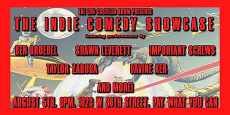 Indie Comedy Showcase tickets