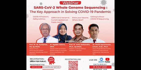 SARS-CoV-2 Whole Genome Sequencing:The Key Approach in Solving the Pandemic tickets