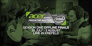Acer Predator Masters powered by Intel - OFFLINE FINALS