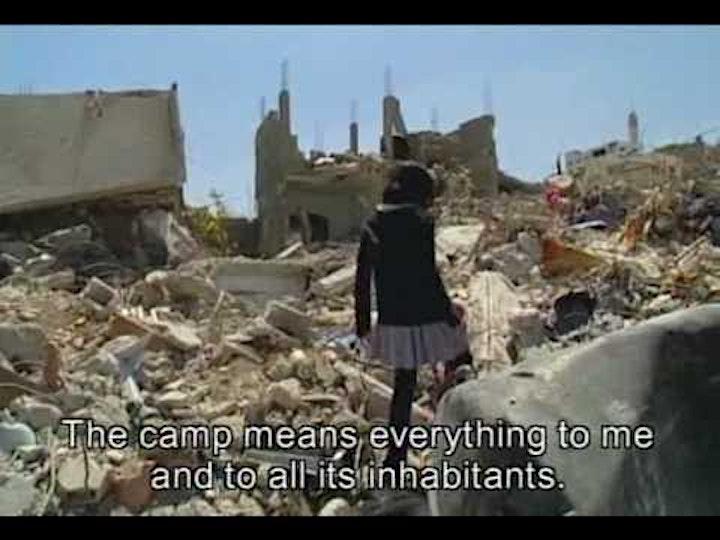 'Jenin Jenin' Documentary screening image