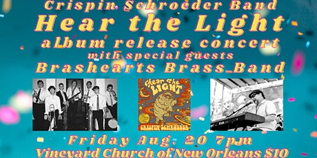 "Crispin Schroeder Band ""Hear the Light"" Album Release tickets"