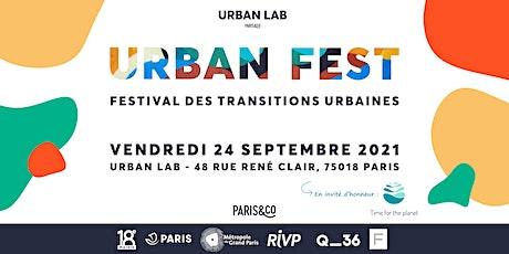 Urban Fest : le festival des transitions urbaines tickets