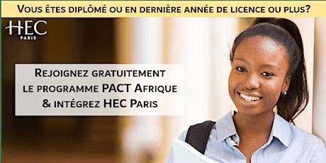 Session d'information PACT Afrique billets