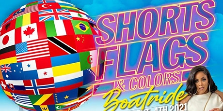 Shorts, Flags, & Colors Boatride tickets