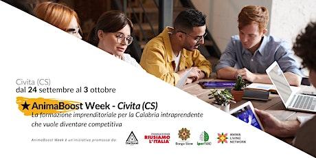 Anima Boost Week - Civita biglietti