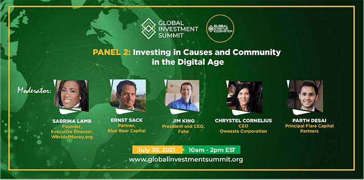 GSE Global Investment Summit 2021 (Virtual) image