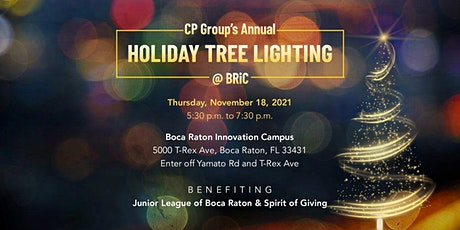 CP GROUP'S ANNUAL  HOLIDAY TREE LIGHTING tickets