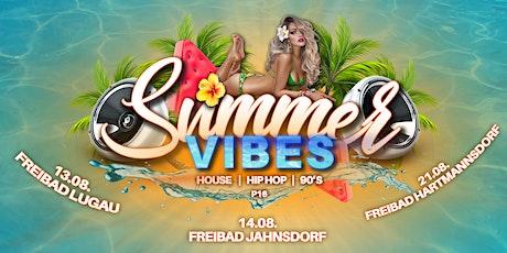 Summer Vibes - Naturbad Hartmannsdorf Tickets