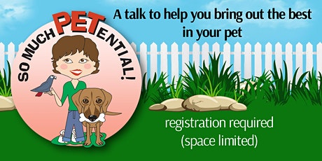 Oh Behave! - A Talk To Bring Out The Best In Your Dog tickets