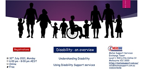 Disability an Overview tickets
