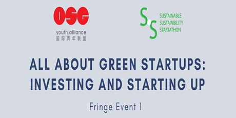 SSS 2021: All About Green Startups: Investing and Starting Up tickets
