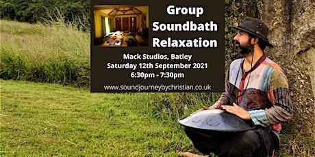 Soundbath Relaxation Experience: Himalayan Singing Bowls & Hand Pan tickets