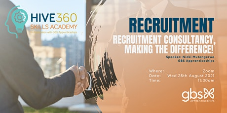 Recruitment Consultant – Recruitment Consultancy, making the difference! tickets