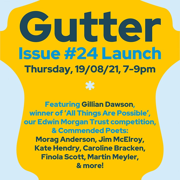 Gutter Issue #24 Launch featuring EMT 'All things are possible' winners image