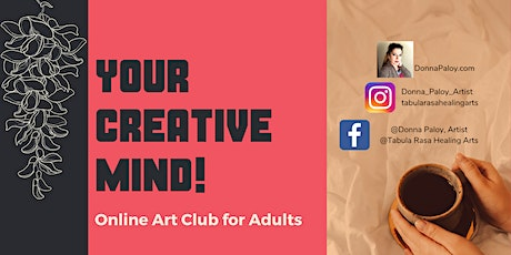 Your Creative Mind! Online Adult Art Club tickets