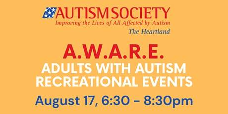 August A.W.A.R.E. Pictionary tickets