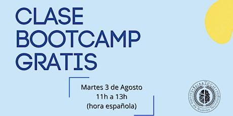 Clase Gratuita BootCamp Full-Stack Web Developer entradas