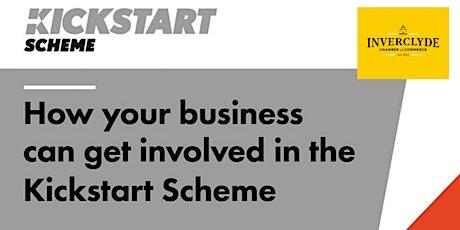 Inverclyde Chamber - Kickstart Scheme Webinar tickets