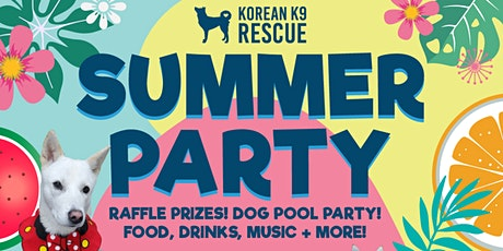 KK9R Summer Alumni Party! Kick Up Your Paws And Party! 10K in Raffle Prizes tickets