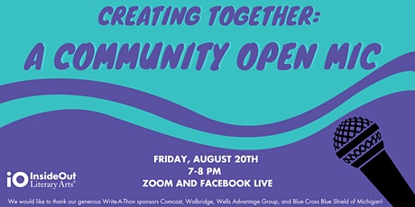 Creating Together: A Community Open Mic tickets