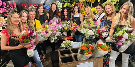 Flower Class-Bouquets and Booze! tickets