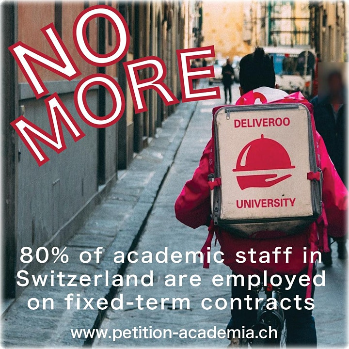 "Petition Handover in Bern: ""Against Precariousness in Higher Education"": Bild"