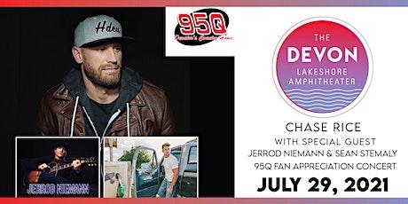 95Q Fan Appreciation ft. Chase Rice with Jerrod Niemann & Sean Stemaly tickets