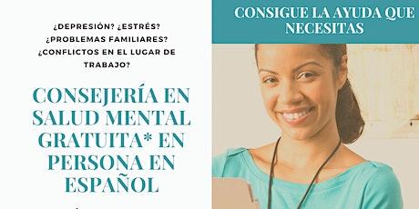 Consejería en Salud Mental Gratuita* en el Centro de Bienestar Con-Vivir tickets