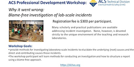 Why it went wrong: Blame-free investigation of lab-scale incidents tickets
