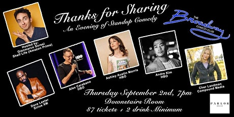Thanks for Sharing - An Evening of Standup Comedy tickets