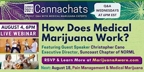 How Does Medical Marijuana Work? tickets