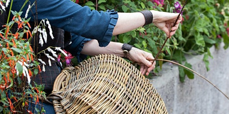 WORKSHOP WITH WILD ROSE BASKETRY - MAKE A WILLOW FISH (under 13's) tickets
