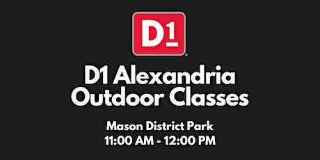 8/5 D1 Alexandria Outdoor Fitness Class tickets