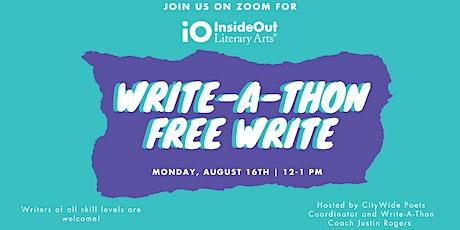 Write-A-Thon Free Write tickets