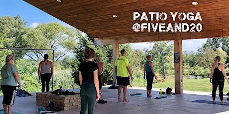 Patio Yoga with Deb tickets