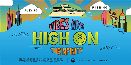 NJ Smokers Club: The Vibes are High Boat Party NYC- TICKETS RUNNING LOW tickets