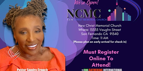 Copy of New Christ Memorial Church Sunday Worship Service tickets
