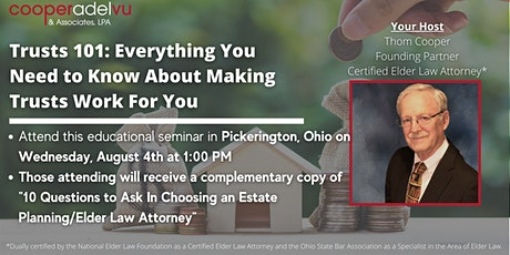 Everything You Need to Know About Making Trusts Work for You tickets
