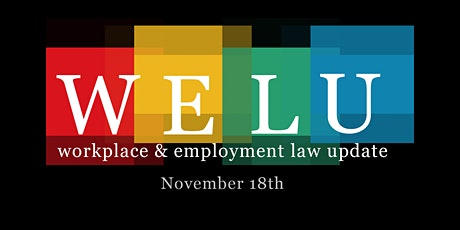 Workplace & Employment Law Update tickets
