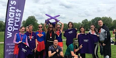 Help survivors of domestic abuse at Royal Parks Half Marathon-Woman's Trust tickets