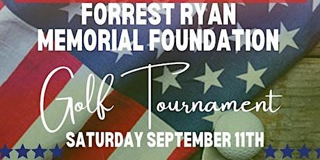 2nd Annual Forrest Ryan Memorial Foundation Golf Tournament tickets