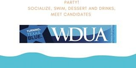 Party! Socialize by the pool, have dessert and drinks, and meet candidates tickets