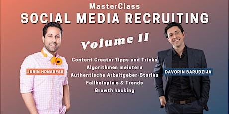 MasterClass Social Media Recruiting - Vol. II Tickets