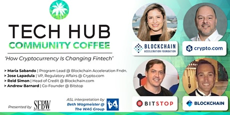 COMMUNITY COFFEE | How Cryptocurrency Is Changing Fintech tickets