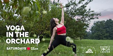 Rhinebeck Yoga x Rose Hill Farm tickets