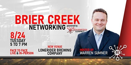 Free  Brier Creek Rockstar Connect Networking Event (August, NC) tickets