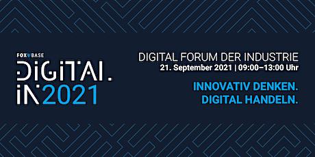 Digital[IN] – Digital Forum der Industrie tickets